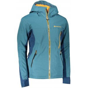 Pánská lyžařská bunda ALPINE PRO MIKAER 4 MJCS446 PETROLEJOVÁ