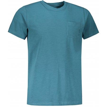 Pánské triko s krátkým rukávem ALPINE PRO OLAV MTSS530 MODRÁ