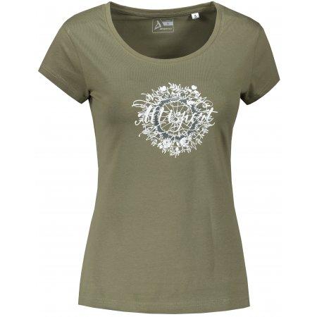 Dámské triko ALTISPORT ALW025F61 KHAKI