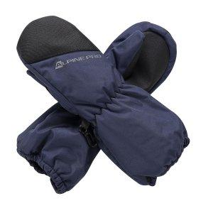 Dětské rukavice ALPINE PRO HANGO KGLS009 MODRÁ