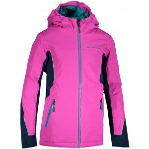 Dětská lyžařská bunda ALPINE PRO MIKAERO 4 KJCS198 RŮŽOVÁ