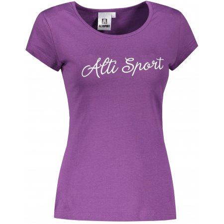 Dámské triko ALTISPORT ALW007122 FIALOVÁ