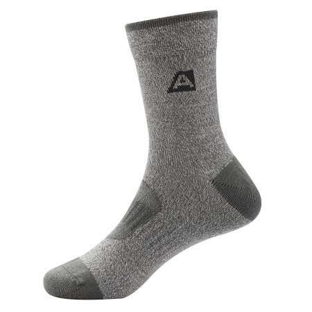 Dětské ponožky ALPINE PRO RAPID 2 KSCS010 TMAVĚ ŠEDÁ