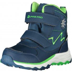 Dětské zimní boty ALPINE PRO MOKOSHO KBTS261 MODRÁ