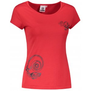 Dámské triko ALTISPORT ALW026122 ČERVENÁ