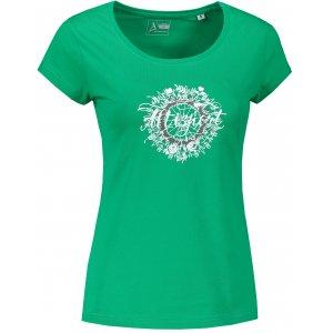 Dámské triko ALTISPORT ALW025F61 STŘEDNĚ ZELENÁ