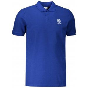 Pánské triko s límečkem ALTISPORT ALM031203 KRÁLOVSKÁ MODRÁ