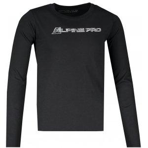 Dětské triko ALPINE PRO BERMO KTSS290 ČERNÁ