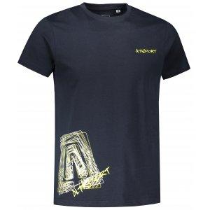 Pánské triko ALTISPORT ALM021F29 NÁMOŘNÍ MODRÁ
