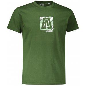 Pánské triko ALTISPORT ALM023F29 LAHVOVĚ ZELENÁ