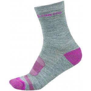Ponožky ALPINE PRO GENTIN 2 USCS038 RŮŽOVÁ