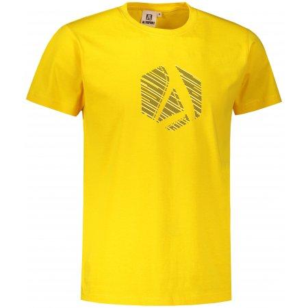 Pánské triko ALTISPORT ALM033129 ŽLUTÁ