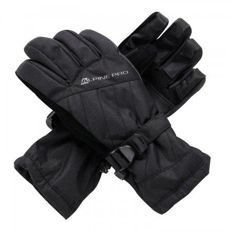 Dámské zimní rukavice ALPINE PRO RENA LGLS014 ČERNÁ