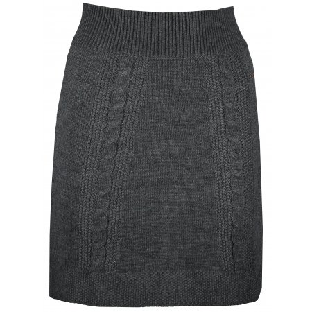 Dámská sukně KIXMI KISSIE TMAVĚ ŠEDÝ MELÍR