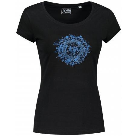Dámské triko ALTISPORT ALW025F61 ČERNOMODRÁ