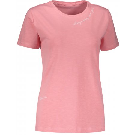 Dámské triko s krátkým rukávem ALPINE PRO CEDRIKA LTSS659 RŮŽOVÁ