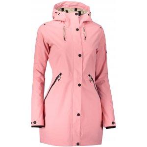Dámský kabát ALPINE PRO NADIJA LJCS404 RŮŽOVÁ