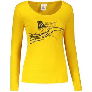 Dámské triko ALTISPORT ALW018169 ŽLUTÁ