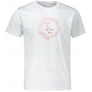 Pánské triko ALTISPORT ALM036F29 BÍLOČERVENÁ