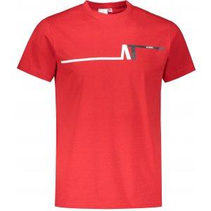 Pánské triko ALTISPORT ALM037129 ČERVENÁ