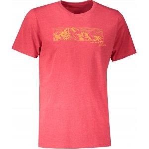 Pánské triko ALPINE PRO ABIC 9 MTST577 ČERVENÁ