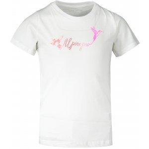 Dětské triko ALPINE PRO NACCO KTST356 BÍLÁ
