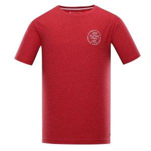 Pánské triko ALPINE PRO ROZEN MTST473 ČERVENÁ