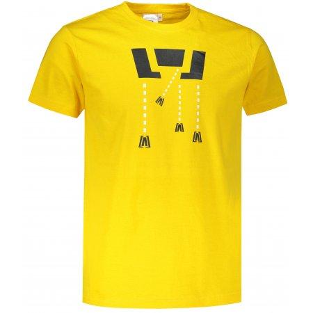 Pánské triko ALTISPORT ALM048129 ŽLUTÁ