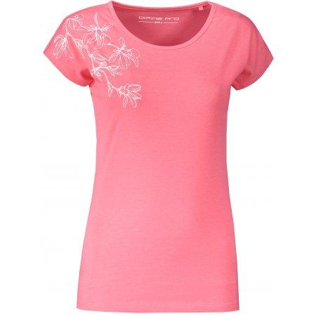 Dámské triko ALPINE PRO POSKA LTST785 RŮŽOVÁ