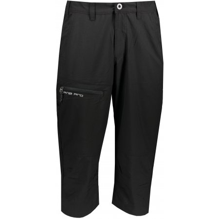 Pánské 3/4 kalhoty ALPINE PRO BEWOL MPAT534 ČERNÁ