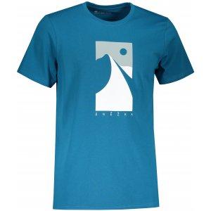 Pánské triko ALPINE PRO UNEG 9 MTST578 MODRÁ