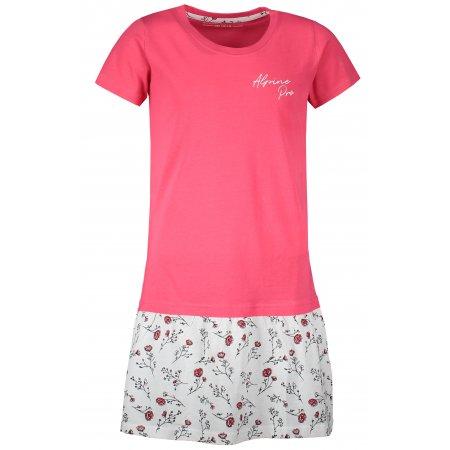 Dívčí šaty ALPINE PRO ARDIO KSKT103 RŮŽOVÁ