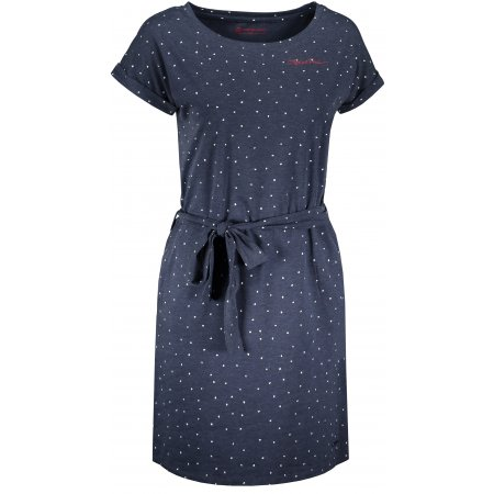 Dámské šaty ALPINE PRO ASSIA LSKT350 TMAVĚ MODRÁ