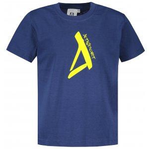 Dětské triko ALTISPORT ALK014138 PŮLNOČNÍ MODRÁ