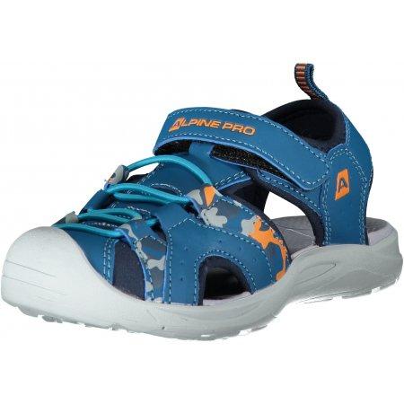 Dětské sandále ALPINE PRO LYSSO KBTT285 SVĚTLE MODRÁ