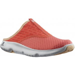 Dámské pantofle SALOMON REELAX SLIDE  5.0 W L41278500 ČERVENÁ/BÍLÁ/ČERVENÁ