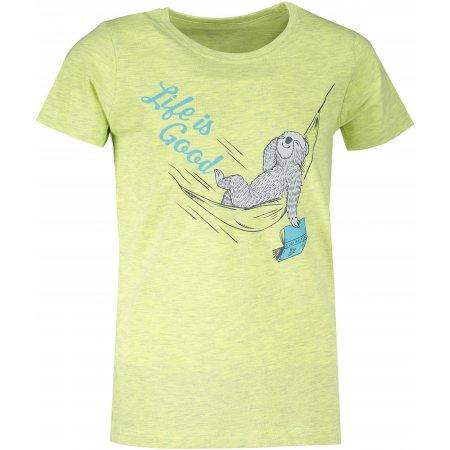 Dětské triko ALPINE PRO GARO 4 KTST310 ZELENÁ