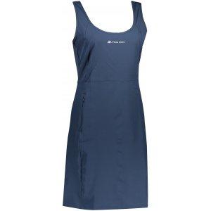 Dámské sportovní šaty ALPINE PRO ELANDA 4 LSKT285 TMAVĚ MODRÁ