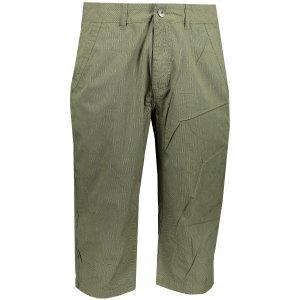Pánské 3/4 kalhoty ALPINE PRO MACR MPAT423 ZELENÁ