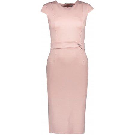 Dámské šaty NUMOCO A301-1 RŮŽOVÁ