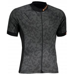 Pánský cyklistický dres ALPINE PRO MARK 2 MTST587 ČERNÁ