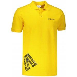 Pánské triko s límečkem ALTISPORT ALM013203 ŽLUTÁ