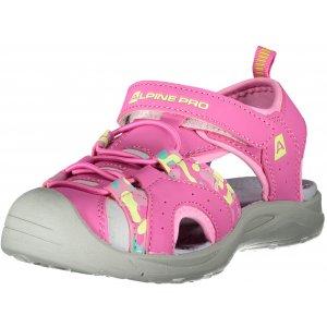 Dětské sandále ALPINE PRO LYSSO KBTT285 RŮŽOVÁ