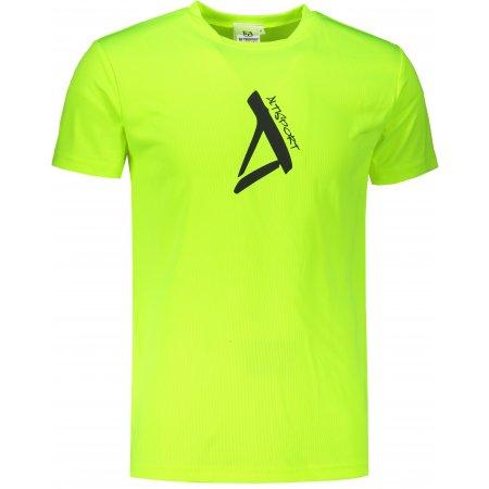 Pánské funkční triko ALTISPORT ALM014124 NEON YELLOW