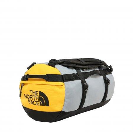 Cestovní taška/batoh THE NORTH FACE GILMAN DUFFEL S TNF BLK/MID GRY/TNF YELLW