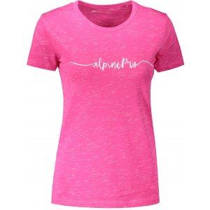 Dámské triko ALPINE PRO ROZENA 6 LTST591 RŮŽOVÁ