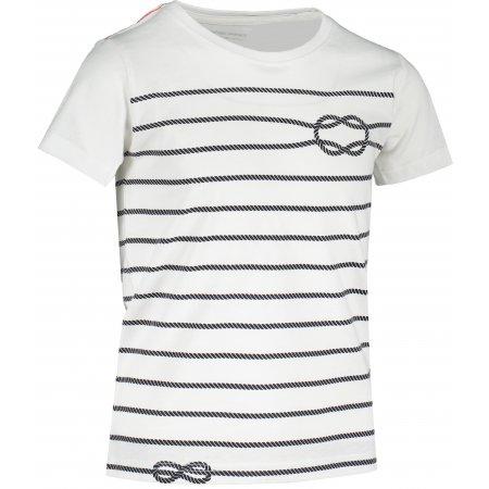 Dětské triko ALPINE PRO MARINO 2 KTST316 BÍLÁ