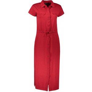 Dámské šaty ALPINE PRO JUFFA LSKT341 ČERVENÁ
