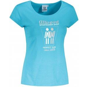 Dámské triko ALTISPORT ALW049122 TYRKYSOVÁ