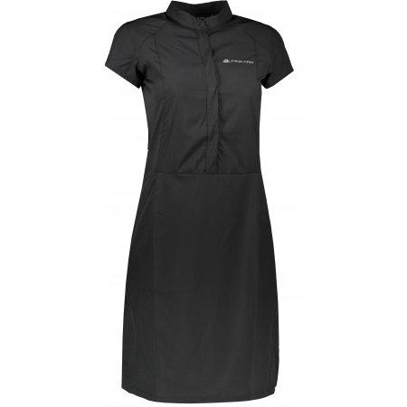 Dámské sportovní šaty ALPINE PRO VAKIA 4 LSKT283 ČERNÁ
